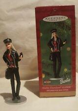 2000 HALLMARK KEEPSAKE HARLEY DAVIDSON Barbie Christmas Holiday Ornament