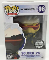 Funko Pop! Overwatch #96 Soldier 76 (Gold) Blizzard Exclusive