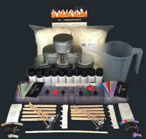 Ultimate Soy Candle Making Kit with 10 Fragrance Oils - Great For Beginners
