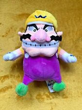 "Super Mario Plush Teddy - Wario Soft Toy - Size 9"" / 22cm NEW and Tagged"
