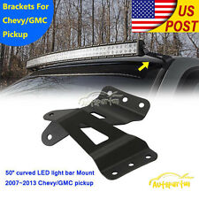 Mounting Bracket For 50/52 inch Curved LED Light Bar Fit For 07-13 Chevy GMC