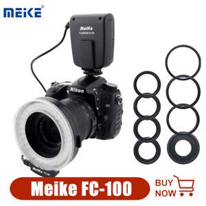 Meike FC-100 FC100 LED Macro Ring Flash Light for Canon Nikon Olympu DSLR Camera