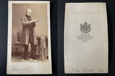 Disdéri, Paris, Le politicien Jules Senard Vintage cdv albumen print CDV, tira