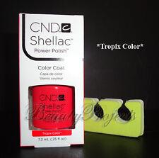 CND Shellac Tropix Color LED/UV Gel Polish .25oz New With Box +Bonus!