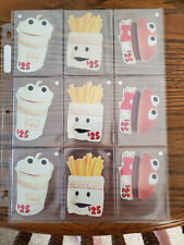 1996 McDonalds Happy Meal Guys Complete Set of (3) $25 Classic Sprint Phone Card