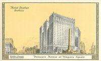 Postcard Hotel Statler, Buffalo, NY