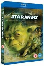 Star Wars Trilogy Episodes I II and III 5039036046688 Blu-ray Region B