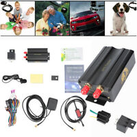 New GSM/GPS/GPRS Car Tracker Vehicle GPS103A TK103A Alarm System/With box