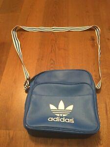 ADIDAS ORIGINALS RETRO MESSENGER ROYAL BLUE SHOULDER BAG