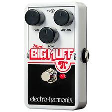 Electro-Harmonix Nano Big Muff Pi Guitar Effects Pedal +Picks