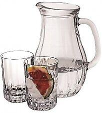 Pasabache 7 Piece Drinkware Set 1 Glass Jug & 6 Tumblers  in Gift Box