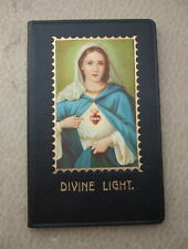 Vintage Catholic Prayer Book Missal Childs First Holy Communion Virgin Mary