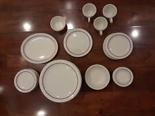 Syracuse China 100-A Diner Plates, Soccers, Cups, Bowl, Stake Plate ETC.