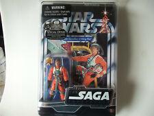 """HASBRO STAR WARS  ACTION FIGURE LUKE SKYWALKER:  X-WING PILOT """" NEW  """""""