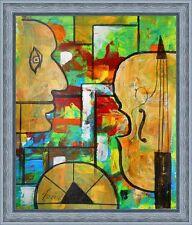 "ORIGINAL OIL PAINTING 17""х14"" CONTEMPORARY ART, POSTIMPRESSIONISM abstract ART"