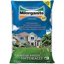 Milorganite 0636 Organic Nitrogen Fertilizer, 36-Pound