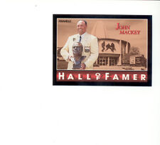 1992 Pinnacle JOHN MACKEY Baltimore Colts Hall of Fame Card