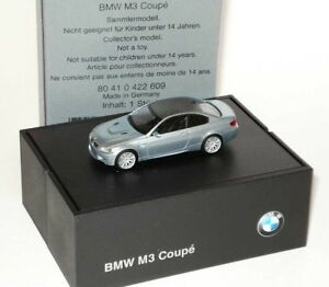 BMW M3 (E92) COUPE 2007 SILVERSTONE II CARBON ROOF 1:87 HERPA (DEALER MODEL)