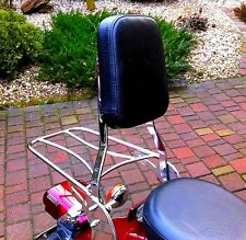 YAMAHA XVS 250 XVS250 DRAGSTAR SISSY BAR PASSENGER BACKREST + LUGGAGE RACK!