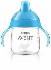 Philips Avent SCF753/15 Premium Spout Cup (9 oz, Blue)