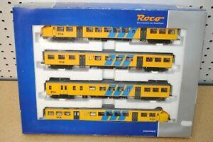 Roco 69168 Dutch State Railways Multi-Unit Rail Coach Plan T w/Sound *HO-Scale*