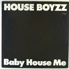 """12"""" Maxi - House Boyzz - Baby House Me - K6236h - washed & cleaned"""