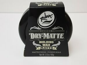 Rolda Dry-Matte Molding Wax Matte Finish/Power Hold 🔥🔥