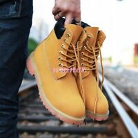 Vogue Mens Boots Chukka Hiking Tactical Ankle Boots Outdoor Work Chic Shoes sz