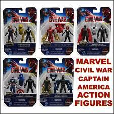 Marvel Captain America Civil War 2 Packs 5 Lot Set 10 Figures MiniVerse New