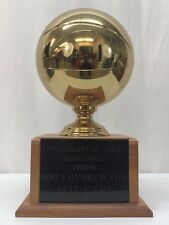 Acie Earl Iowa Hawkeyes Basketball 1990-1991 Most Valuable Player (MVP) Trophy