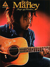 Bob Marley Songs Of Freedom Learn to Play Reggae Guitar TAB Music Book