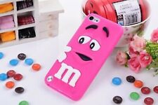 Rosa 3D mm Candy suave silicona Funda Cubierta para Apple iPod 7th Gen 6th Gen Touch