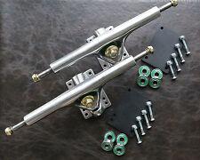 "SPEEDTHRON 270 mm / 8"" LONGBOARD TRUCKS ACHSEN ( 2 Stück) ALU/SILVER POLIERT"