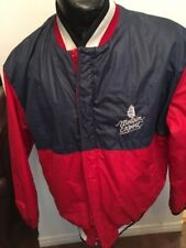 Adult Jacket Zip Front w/ domes L MOLSON EXPORT BEER Light Lining