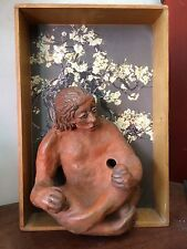 Original Claire Pierpoint (Swiss/American) Mixed Medium Sculpture, c. 2000