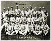 MLB 1919 Chicago White Sox Team Picture Shoeless Joe Jackson 8 X 10 Photo Pic