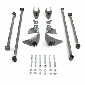 Triangulated Rear Suspension Four 4 Link Kit for 49-64 Studebaker fits coilovers