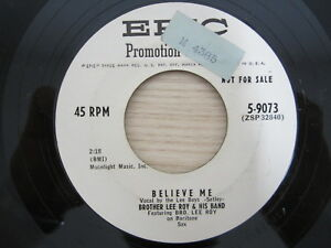 Single / Brother Lee Roy And His Band / TEST PRESSUNG / MUSTER / PROMO / RAR /