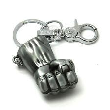 Hulk Metal Punch Locking Keychain Avengers Marvel Collectible Key Chain