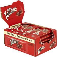 Maltesers Teasers Chocolate Bar - Full Original Box Of 24 x 35g - BBE 02/01/22