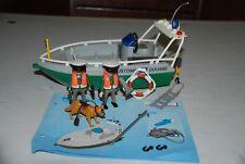 Playmobil 4471 lancha de policia aduanas