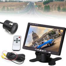 7IR Monitor Kit Auto Umkehrung System LCDMonitor+Ansicht Heck Kamera+Video Kabel