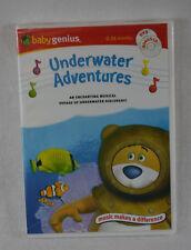 Baby Genius Underwater Adventures DVD Bonus CD (Sealed) New Great Gift!!