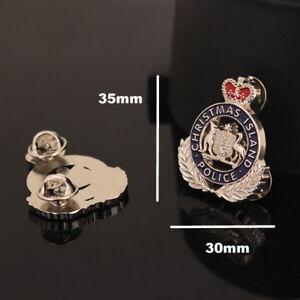 Christmas Island Police Pin (social)