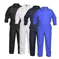 Men's Coverall Overalls Boiler Suit Coveralls Work Wear Mechanics H.Duty 200gsm