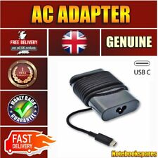 Original Dell Latitude 7390 65W USB Type C Adapter Power Charger Laptop UK