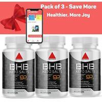 Keto BHB Ultra Fast  Weight Loss Diet Pills Ketogenic Burn (Pack of 3)