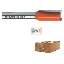 "1/2"" & 1/4"" inch Shank Straight Metric Router Cutter Bit Woodwork TCT Kitchen"