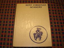 "1982 Kent Christian Academy Dover Delaware High School Yearbook ""Lancer"""