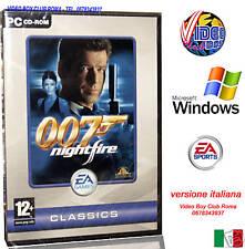 JAMES BOND 007 NIGHTFIRE PC GAME CD ROM WINDOWS NUOVO